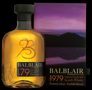 BalBlair 1979 Single Malt Whisky