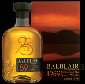 BalBlair 1989 Single Malt Whisky
